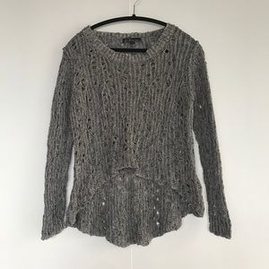 BYLINE | HIGH-LOW SWEATER FROM ARITZIA